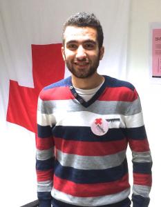 Azat Mohammed, kurder fra Syrien og frivillig hos Røde Kors.