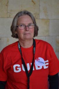 """""""Vi får helt unikke oplevelser som frivillige herinde,"""" siger Rie Iversen, der er med på 3. år."""